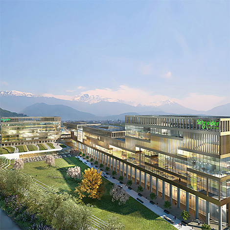 Projet GreenOValley de Schneider Electric