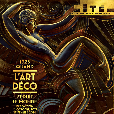 affiche expo Art Deco